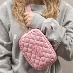 NWT Pink VS Quilted Fanny Pack